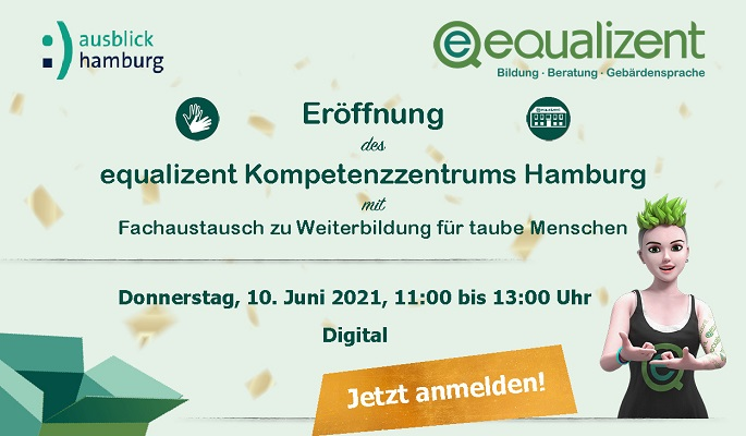 Einladung: Eröffnung equalizent Hamburg
